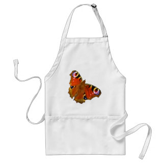 Peacock butterfly adult apron