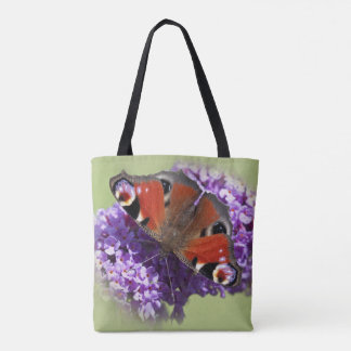 Peacock Butterfly All-Over-Print Bag