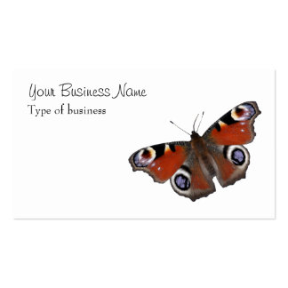 Peacock butterfly Double-Sided standard business cards (Pack of 100)
