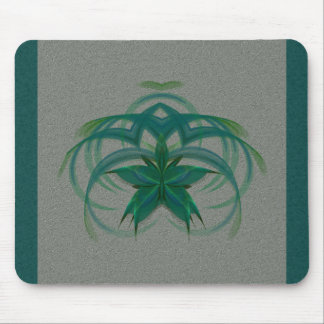 Peacock Butterfly in Flight Abstract Art Mouse Pad