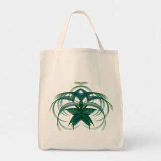 Peacock Butterfly in Flight Abstract Art Tote Bag