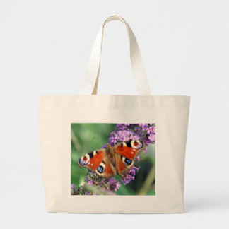 Peacock Butterfly Jumbo Tote
