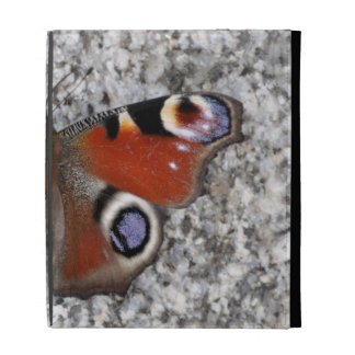 Peacock butterfly photo iPad folio covers