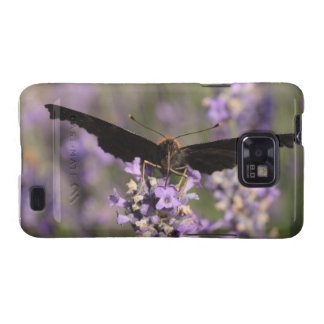 peacock butterfly sucking lavender nectar samsung galaxy covers