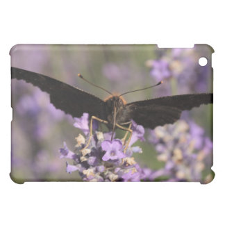 peacock butterfly sucking lavender nectar iPad mini covers