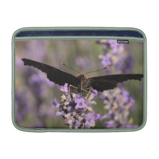 peacock butterfly sucking lavender nectar MacBook air sleeve