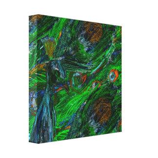 Peacock. Canvas Print
