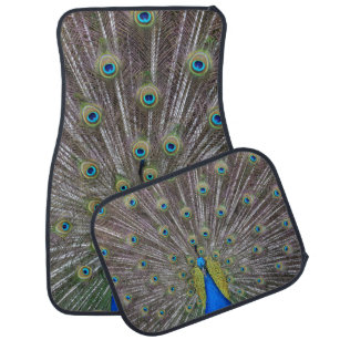 Peacock Car Floor Mats Zazzle