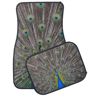 Peacock Car Floor Mat
