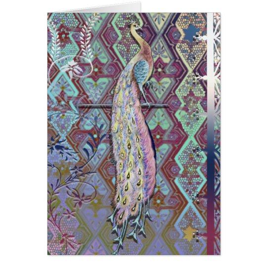 Peacock Card 2