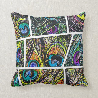 Peacock Cartoon - Pillow