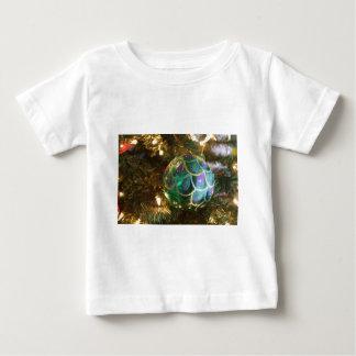Peacock Christmas Baby T-Shirt