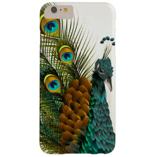 Peacock Closeup Glam Shot Barely There iPhone 6 Plus Case