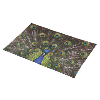 Peacock Cloth Placemat