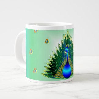 Peacock Coffee Cup