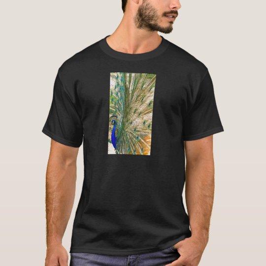 Peacock Color Display T-Shirt