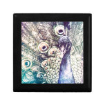 peacock, color, oil painting, australia gift boxes