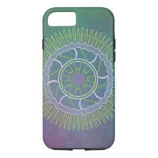 Peacock Colored Mandala iPhone 7 Tough Case