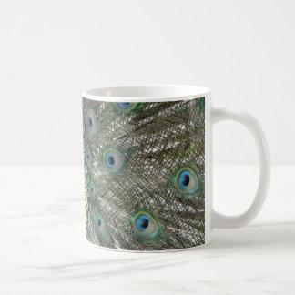 Peacock Colors Coffee Mug