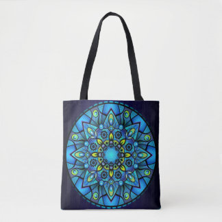 Peacock colors floral bag