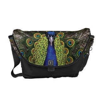 Peacock Courier Bag