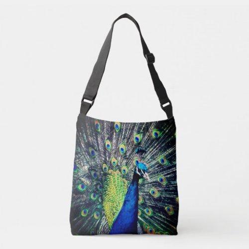 Peacock Crossbody Bag