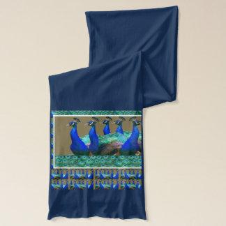 Peacock Dance Collection : WALK RUN SHOWOFF Scarf