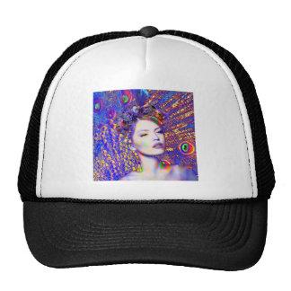 Peacock Dance Trucker Hat