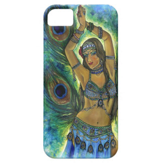 Peacock Dancer iPhone SE/5/5s Case