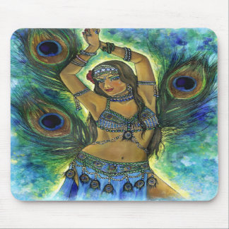 Peacock Dancer  Mousepad