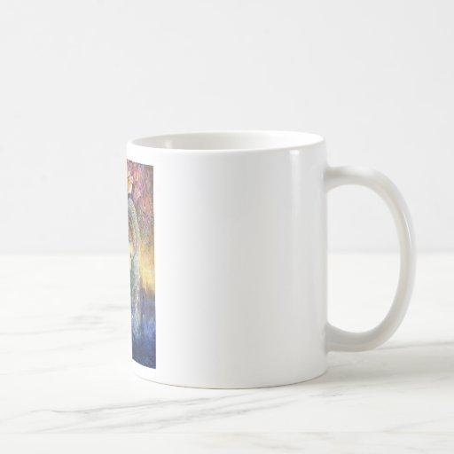 peacock dazzle.jpg classic white coffee mug