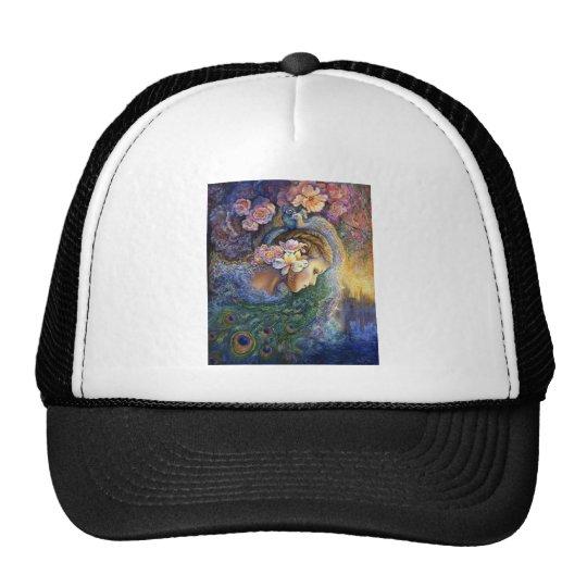 peacock dazzle.jpg trucker hat