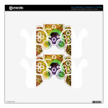 Peacock Design Decal For PS3 Controller