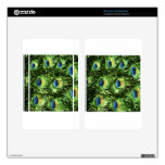 Peacock Design Kindle Fire Decal