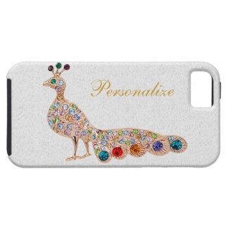 Peacock Diamond Jewels Photo Print iPhone 5 iPhone SE/5/5s Case