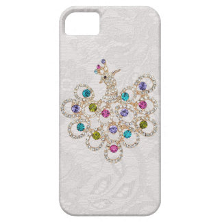 Peacock Diamonds & Jewels Paisley Lace iPhone 5 iPhone SE/5/5s Case