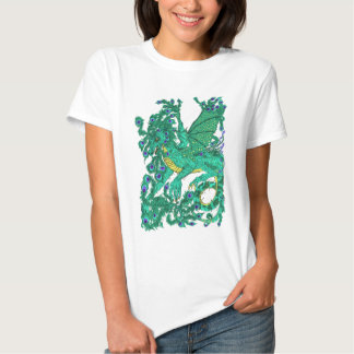 Peacock Dragon Shirts