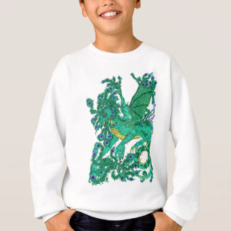Peacock Dragon Sweatshirt