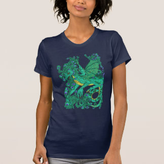 Peacock Dragon T-Shirt