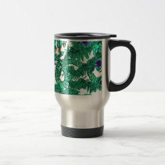 Peacock Dragon's Tail Coffee Mugs