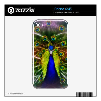 Peacock Dreamcatcher Decals For The iPhone 4S