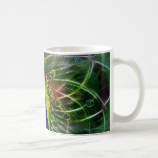 Peacock Dreamcatcher Coffee Mug