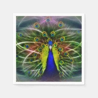 Peacock Dreamcatcher Paper Napkins