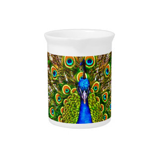 Peacock Drink Pitcher