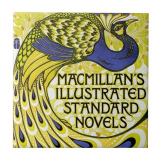 Peacock Edition, MacMillan's Illustraded Ceramic Tile
