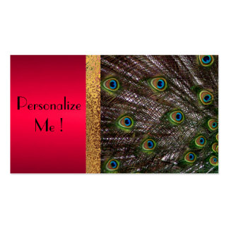 Peacock Elegant Modern Trendy / House-of-Grosch Business Card