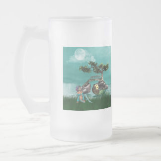 Peacock Elf Frosted Mug