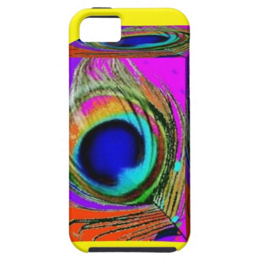 Peacock Eye feathers Box by Sharles iPhone 5 Cases