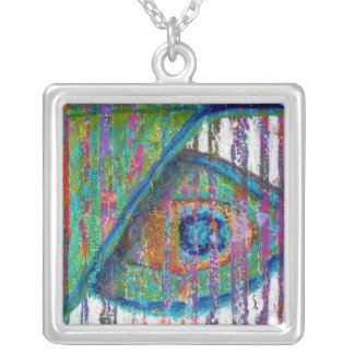 Peacock Eye Fine Art Pendant