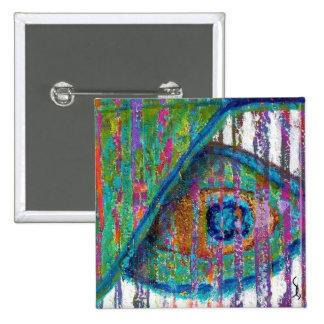 Peacock Eye Fine Art Pin